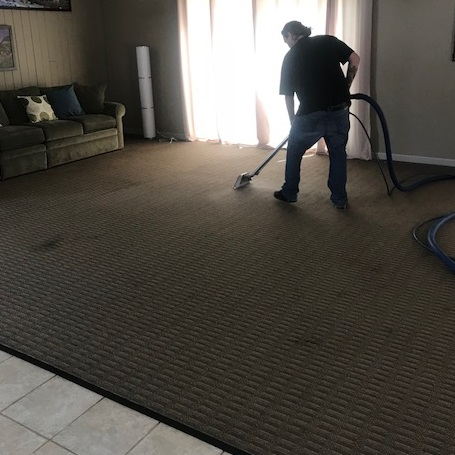 Residential Carpet Cleaning by Tri R Carpet Care Inc